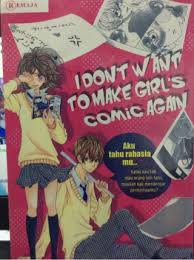 I DON'T WANT TO MMAKE GIRL'S COMIC AGAIN